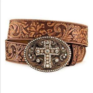 Women's Vintage Western Spirit Cross Belt